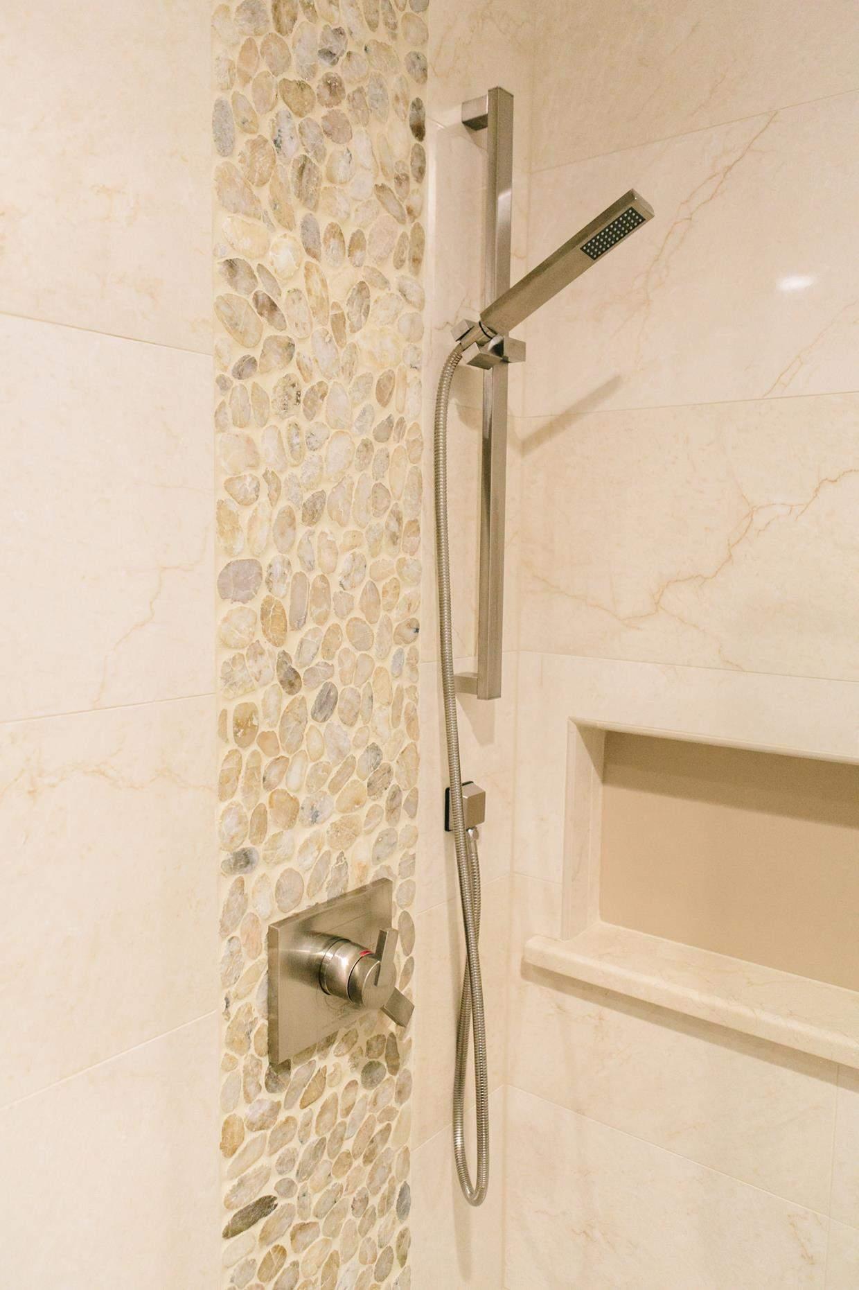 Design Secrets for a Small Master Bathroom - KBF Design Gallery