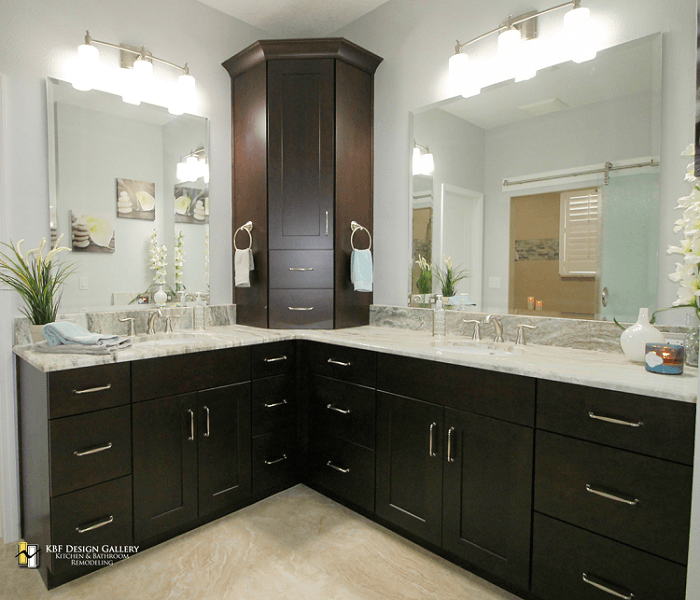 Master bathroom remodel in sanford kbf design gallery for Bath remodel orlando