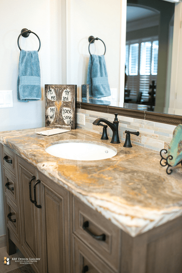 Traditional home remodel guest baths kbf design gallery for Bath remodel orlando