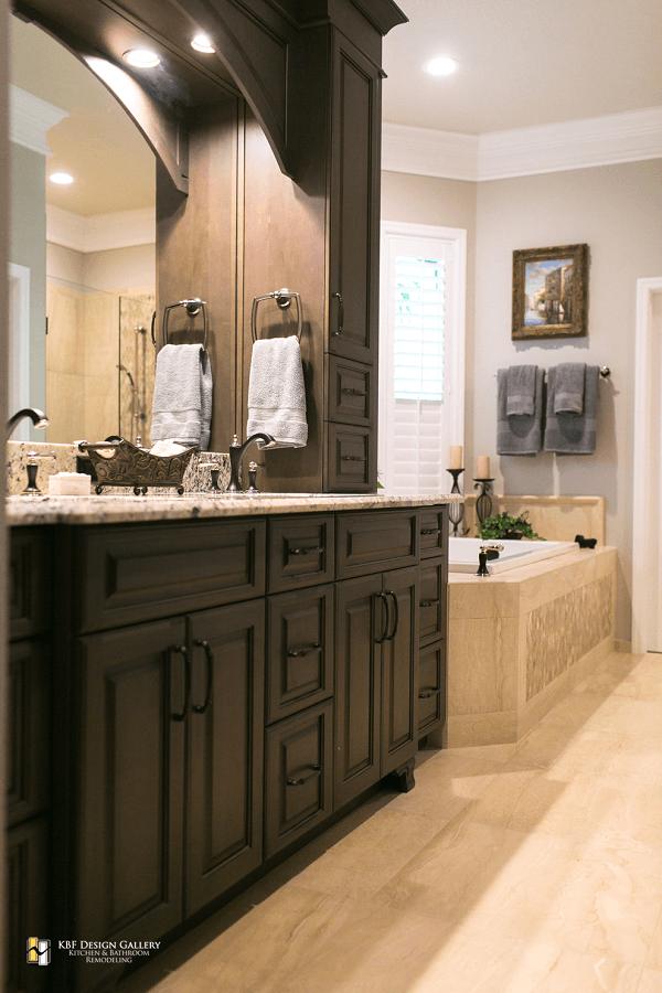 Traditional home remodel master bath kbf design gallery - Bathroom remodel photo gallery ...