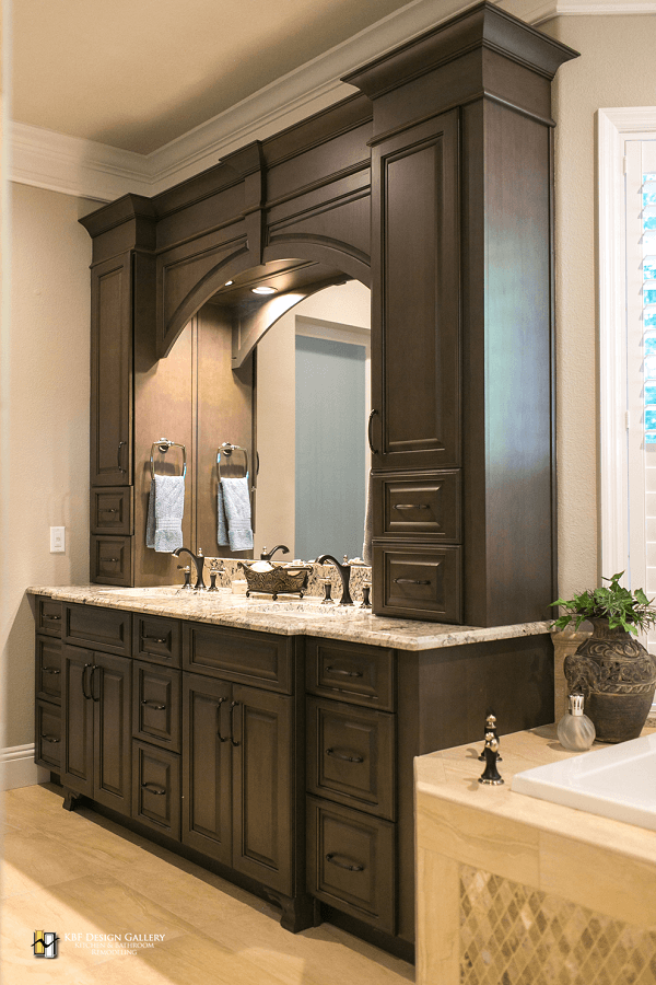 Traditional Home Remodel - Master Bath - KBF Design Gallery