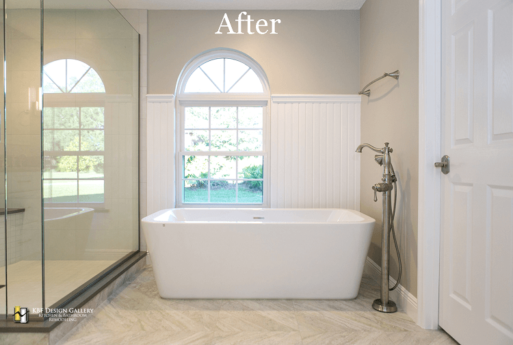 Master bath remodel in winter springs kbf design gallery for Bath remodel orlando