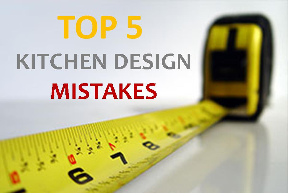 Kitchen design mistakes to avoid kbf design gallery for Kitchen design mistakes