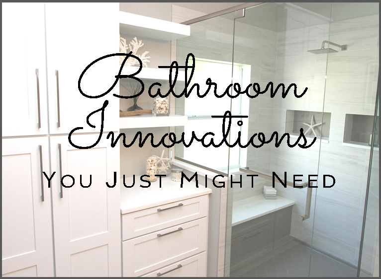 Bathroom innovations you just might need kbf design gallery Shower innovations