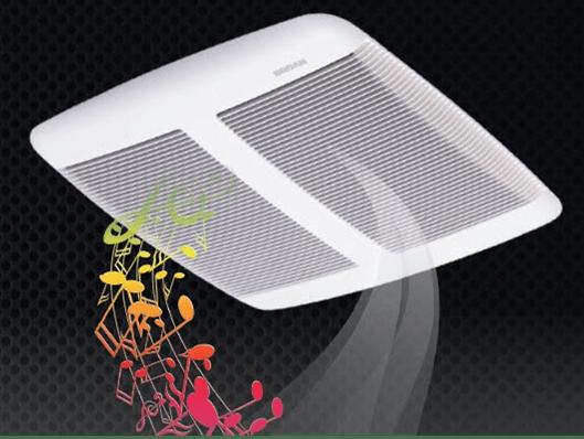 Shower Speaker Fan