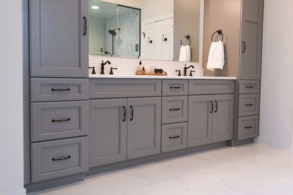 Overlay Cabinets Bathroom