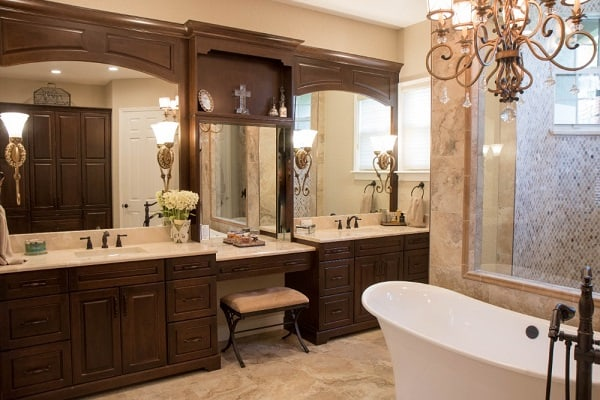 Attirant ... Traditional Bathroom Remodel ...
