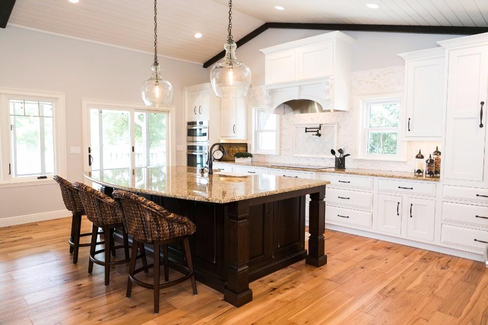 Lake House Kitchen Remodel Kbf Design Gallery