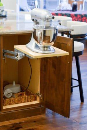 Stand Mixer Storage Cabinet