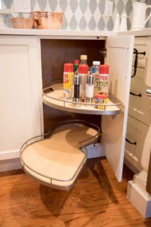 Corner Cabinet Pullout Shelves