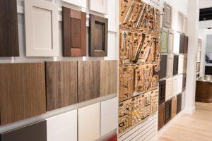 KBF Showroom Cabinet and Hardware Display