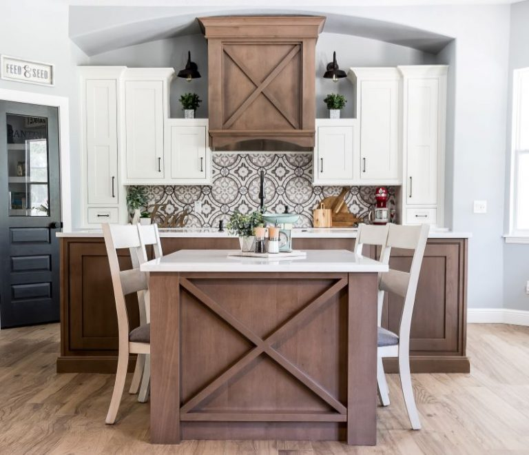 Farmhouse Look Kitchen Remodeling