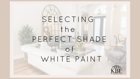 Selecting the Perfect White Paint for Your Home