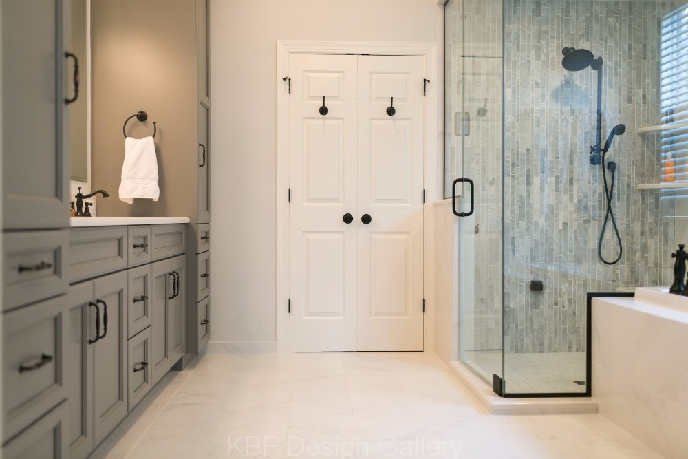 Tradtional Master Bath; Master Bath With Steam Shower ...