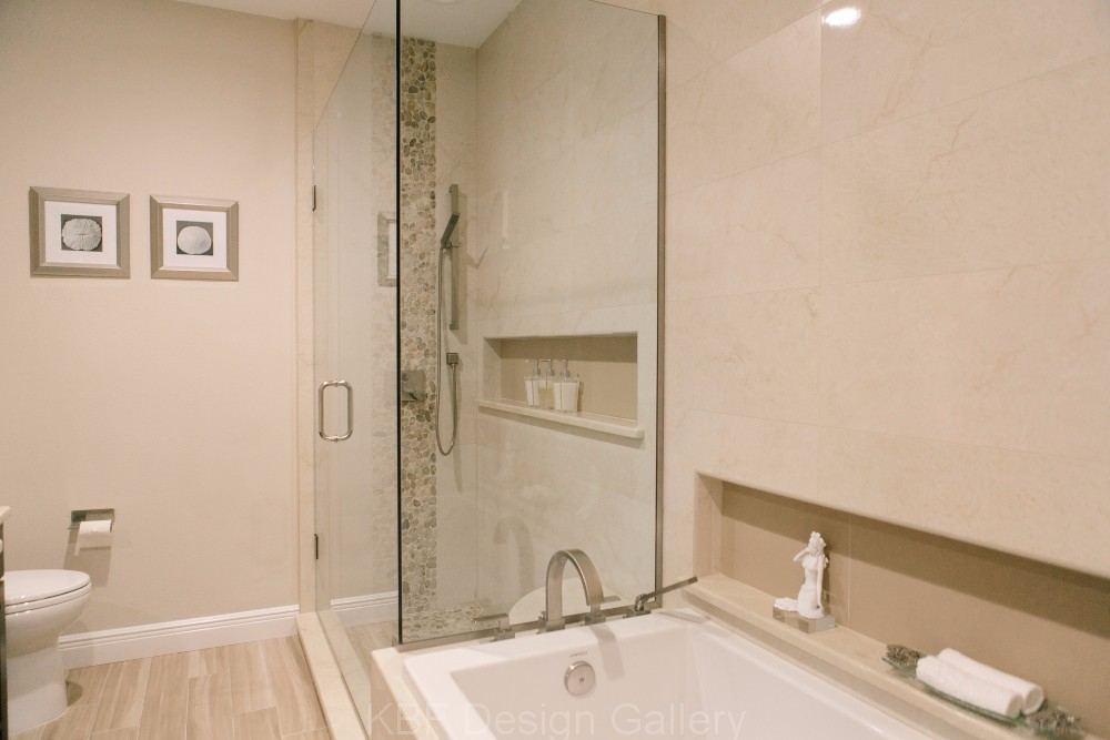 Small master bath remodel kbf design gallery for Bathroom remodeling leads