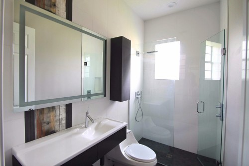 Contemporary Bathroom Remodel 5