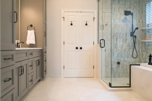 Photo Gallery Bathroom Design: Master Bathroom With Steam Shower